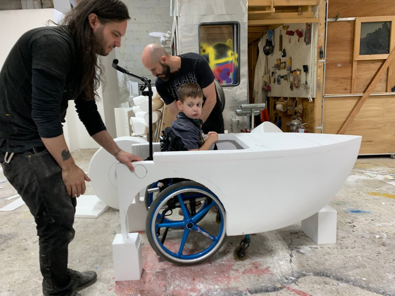 Magic Wheelchair Foundation/Comic Con photo spongebob 2.jpg