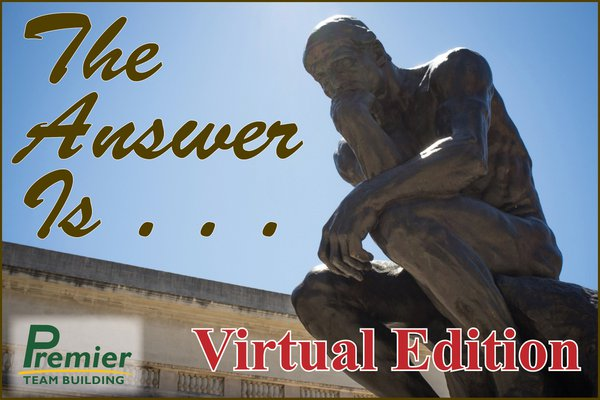 THE ANSWER IS . . . VIRTUAL EDITION cover photo