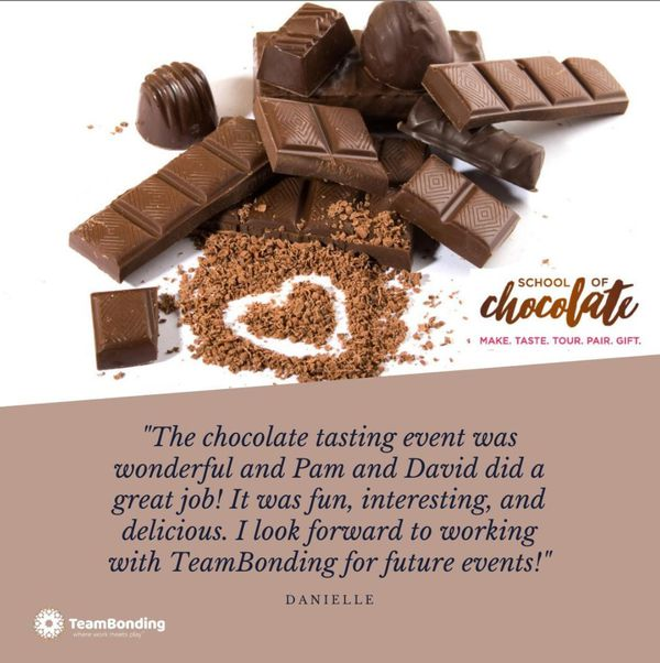 Virtual curated chocolate tasting service