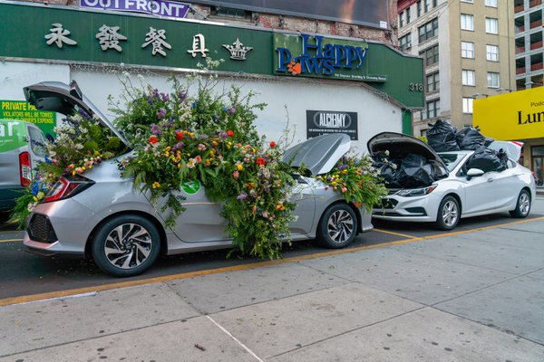 Zipcar Earth Day Flower Flash