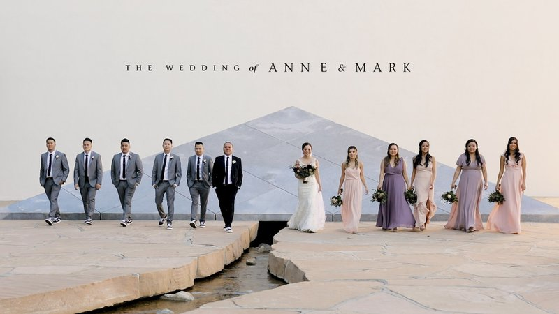 The Wedding of Anne and Mark cover photo