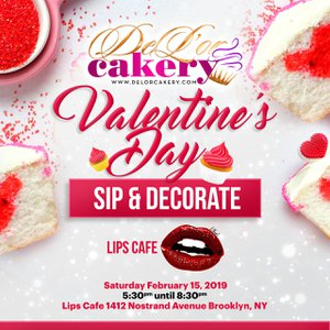 Valentine's Day Sip & Decorate  photo Valentines Day.jpg