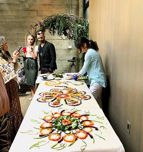 Food Mandala Edible Art  photo ActionshotSize.jpg