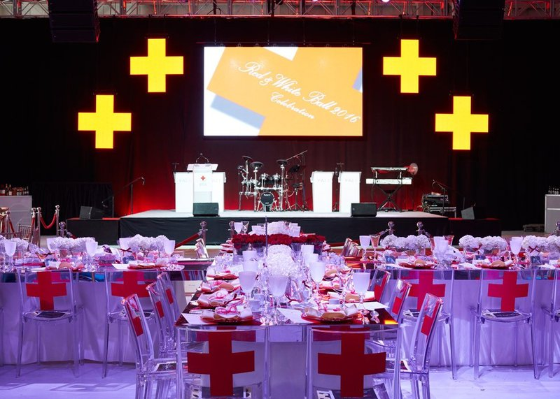 Red & White Red Cross Ball cover photo