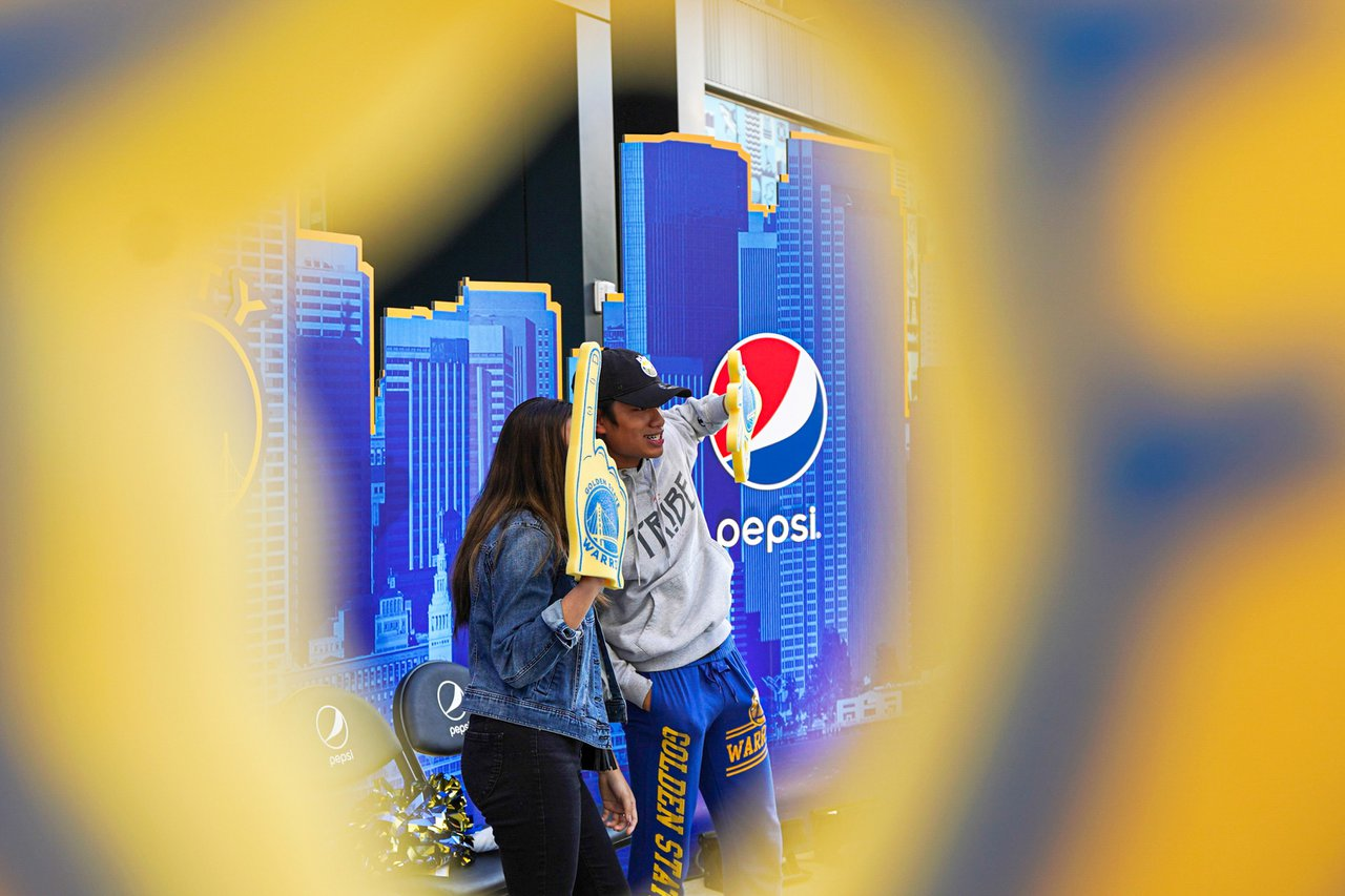 Pepsi at The Golden State Warriors Game photo OHelloMedia-Pepsi-GoldenStateWarriorsTipoff-Select-13.jpg