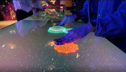 INTERACTIVE VIDEO TABLE