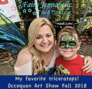 Occoquan Art's & Crafts  Show photo Occoquan_Triceratops_Sept_2018.jpg