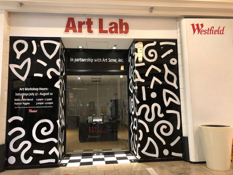 Westfield Mall Art Lab