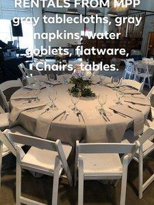Wedding photo Glass, plates, flatw, tablecloths gray.jpg