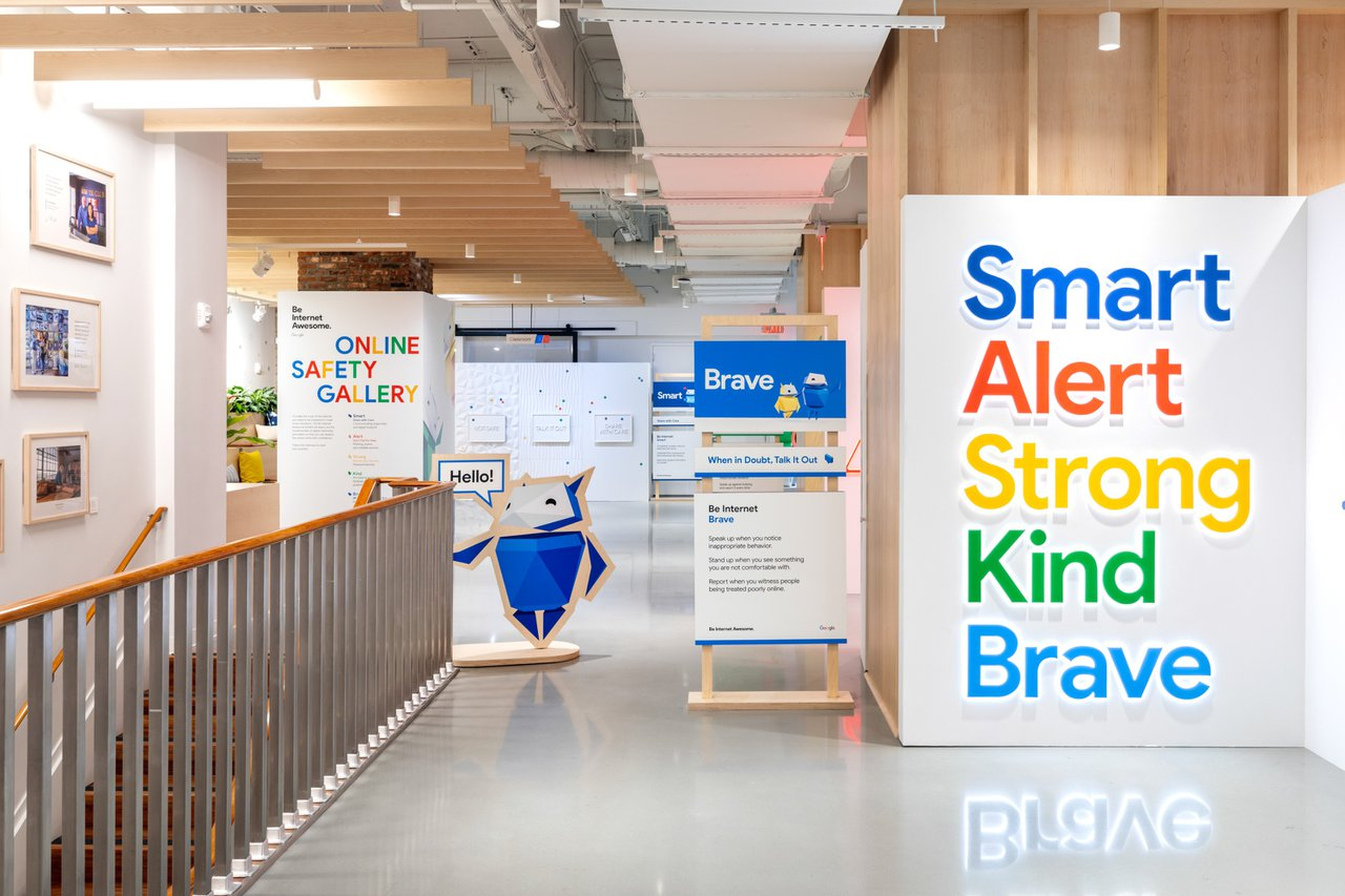 Google 'Be Internet Awesome' Activation cover photo