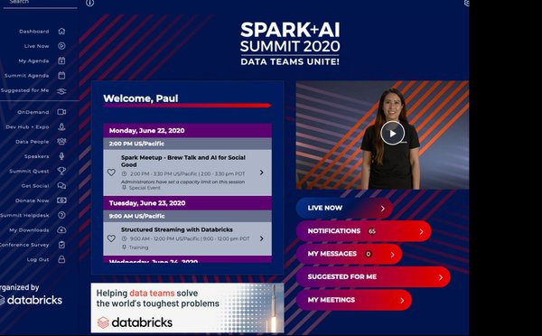 Virtual Spark + AI Summit cover photo