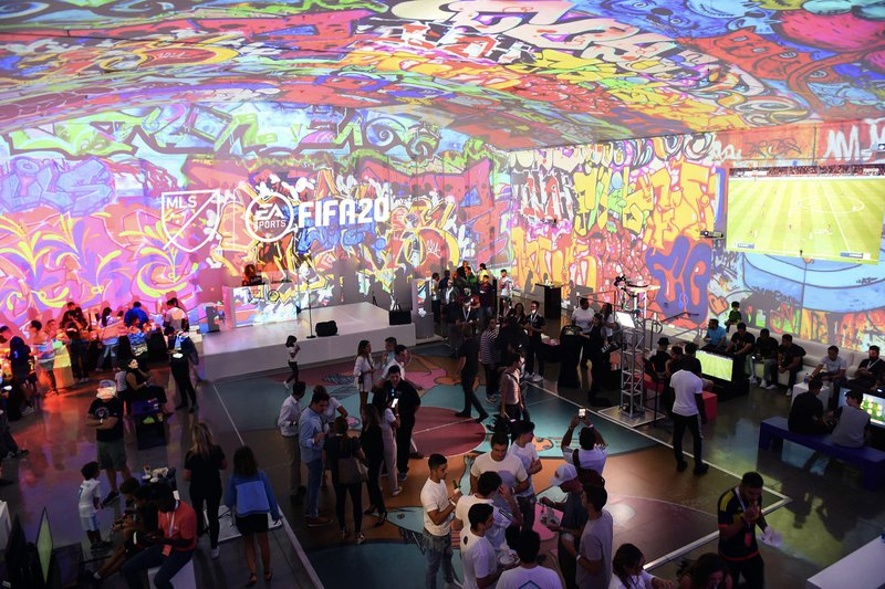 Major League Soccer FIFA20 Launch Party