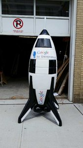 Google Headquarters -Various Androids photo Google Rocket - 1.jpg