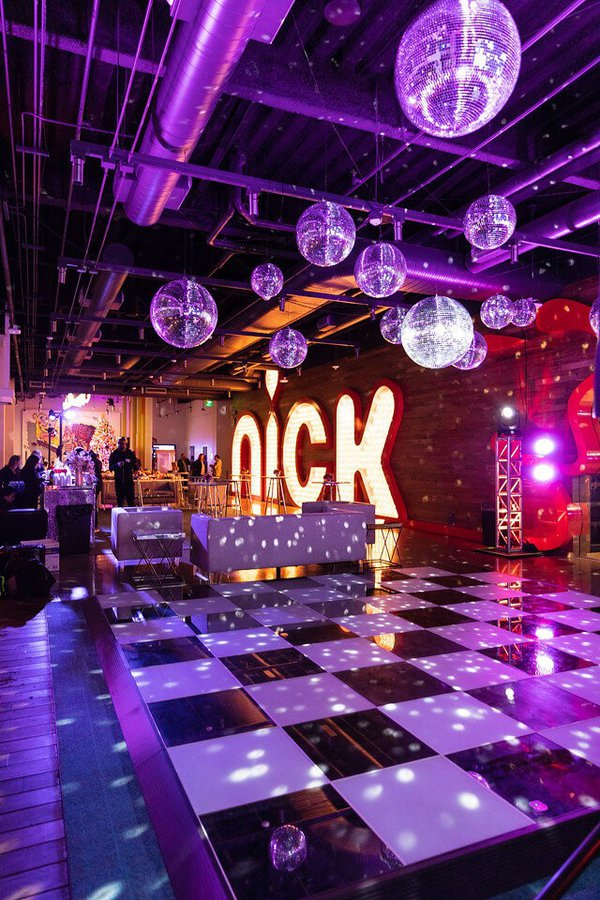 Nickelodeon Studios Holiday Party