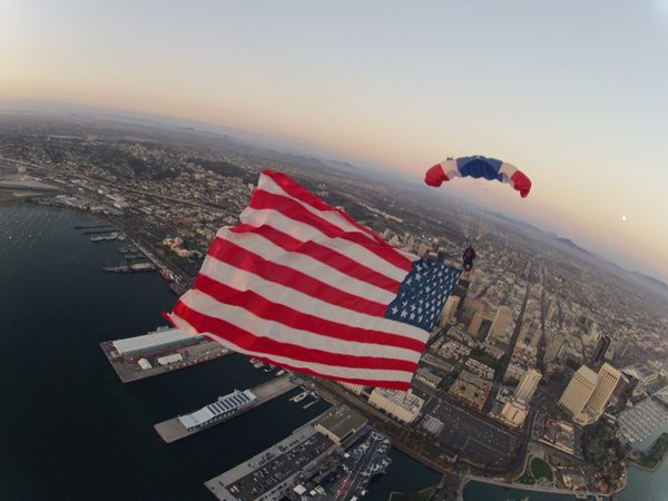 USS Midway Skydiving Show cover photo
