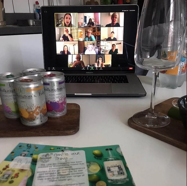 Corporate Virtual Gin Tasting cover photo