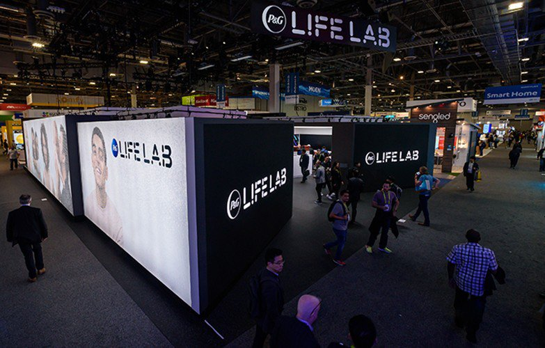 P & G Lif Lab at CES photo PG-LifeLab-Exterior-LifeLab.jpg