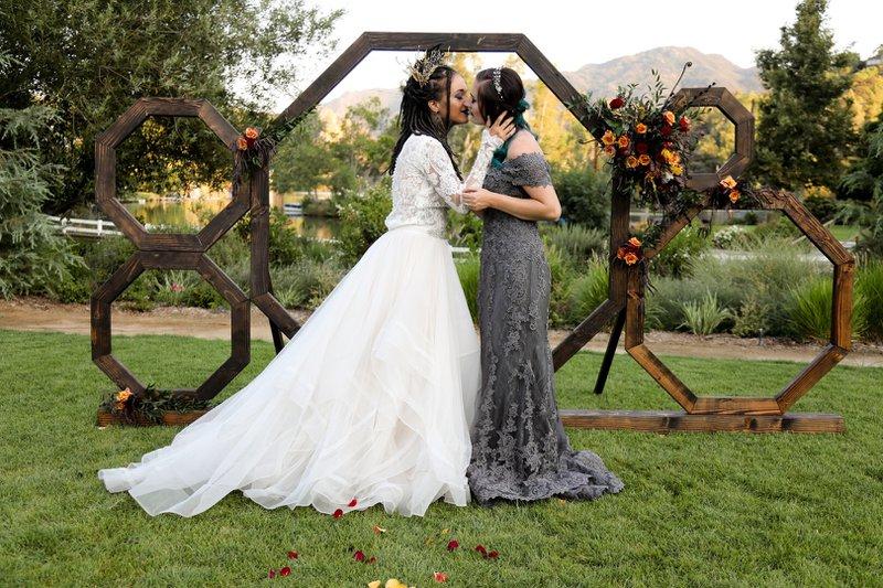 Wedding Malibou Lake Lodge cover photo