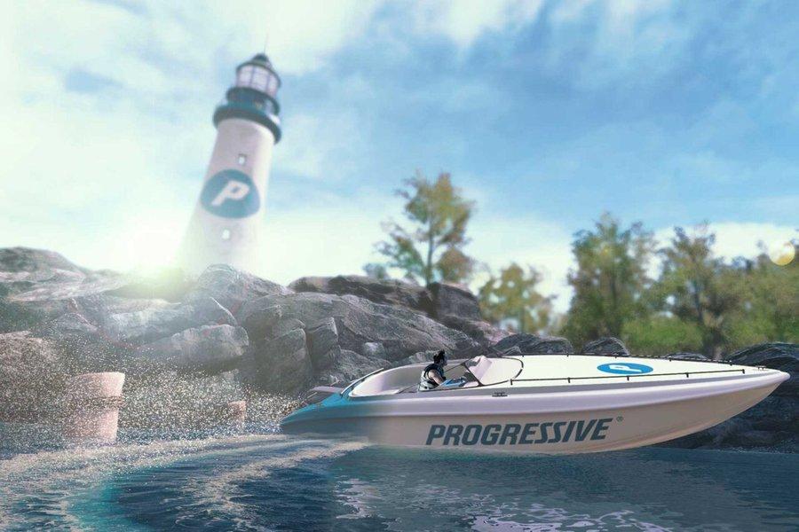 Progressive Virtual Reality Lake Dash