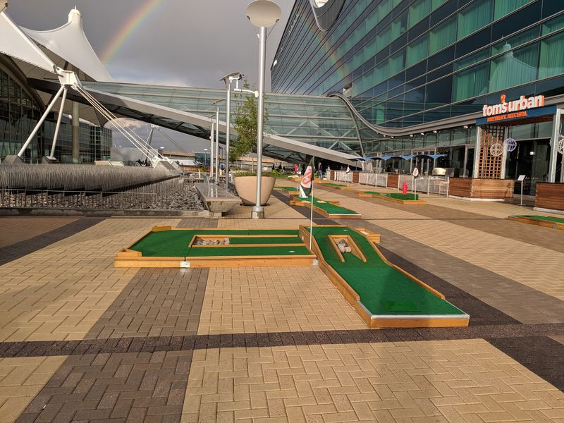 Mini Golf on the Plaza