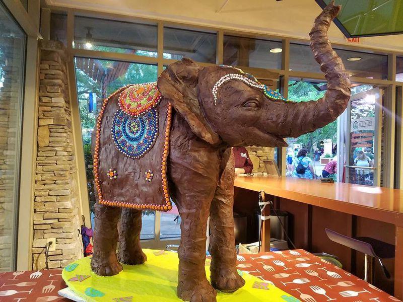 Busch Gardens Elephant Pop-Up