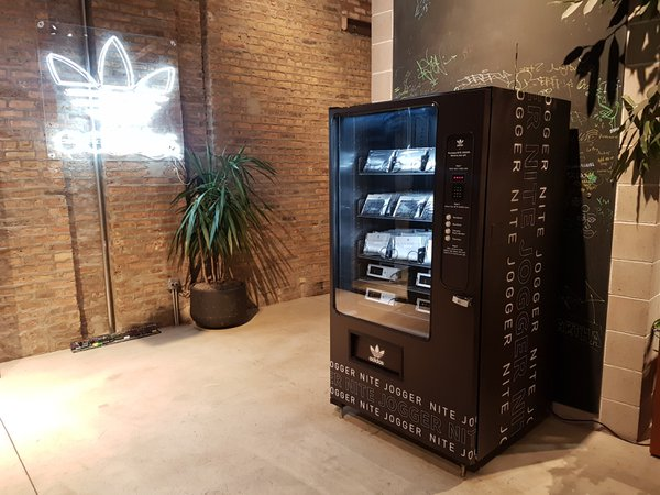 Adidas Flash Activated Vending Machine cover photo