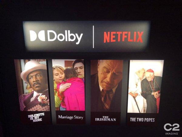 Dolby SoHo's Netflix Film Experiences