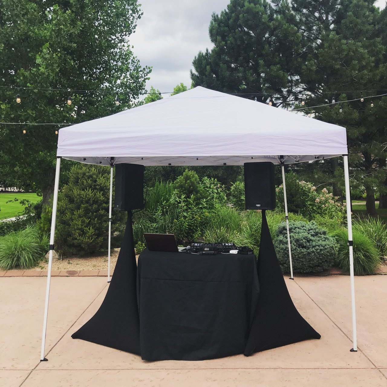 Wedding DJs photo Outdoor Simple Sound Package.jpg