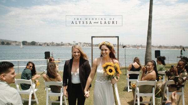 The Wedding of Alyssa and Lauri cover photo