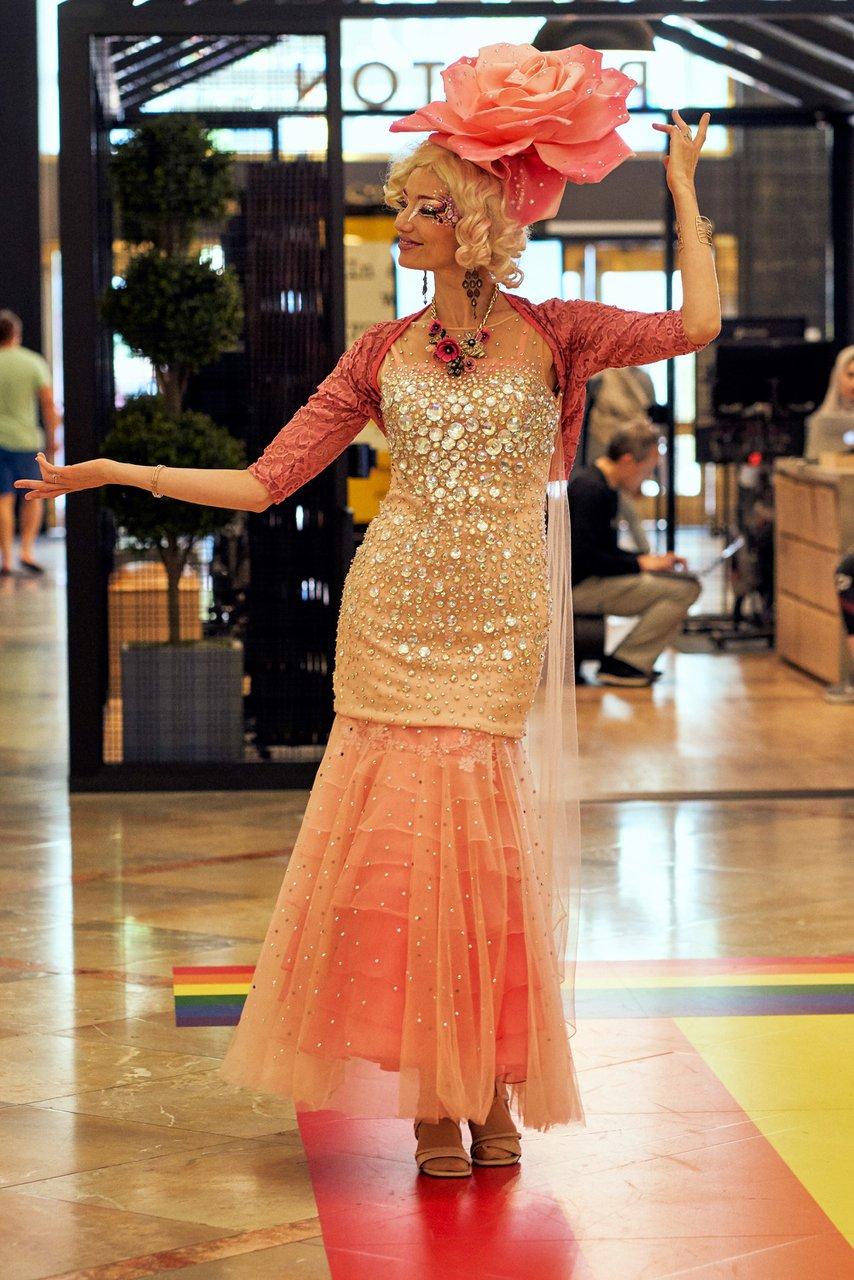 Pride Celebration at Westfield Center photo Pink_runway.jpg