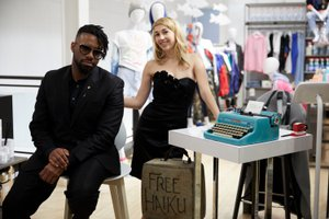 Bloomingdale's In-Store Event photo Typewriter Poetry at Bloomingdales12.jpg
