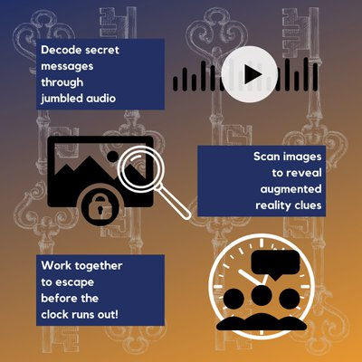 iEscape - Virtual Escape Rooms: iEscape is a challenging and fun endeavor! Be sure….jpg