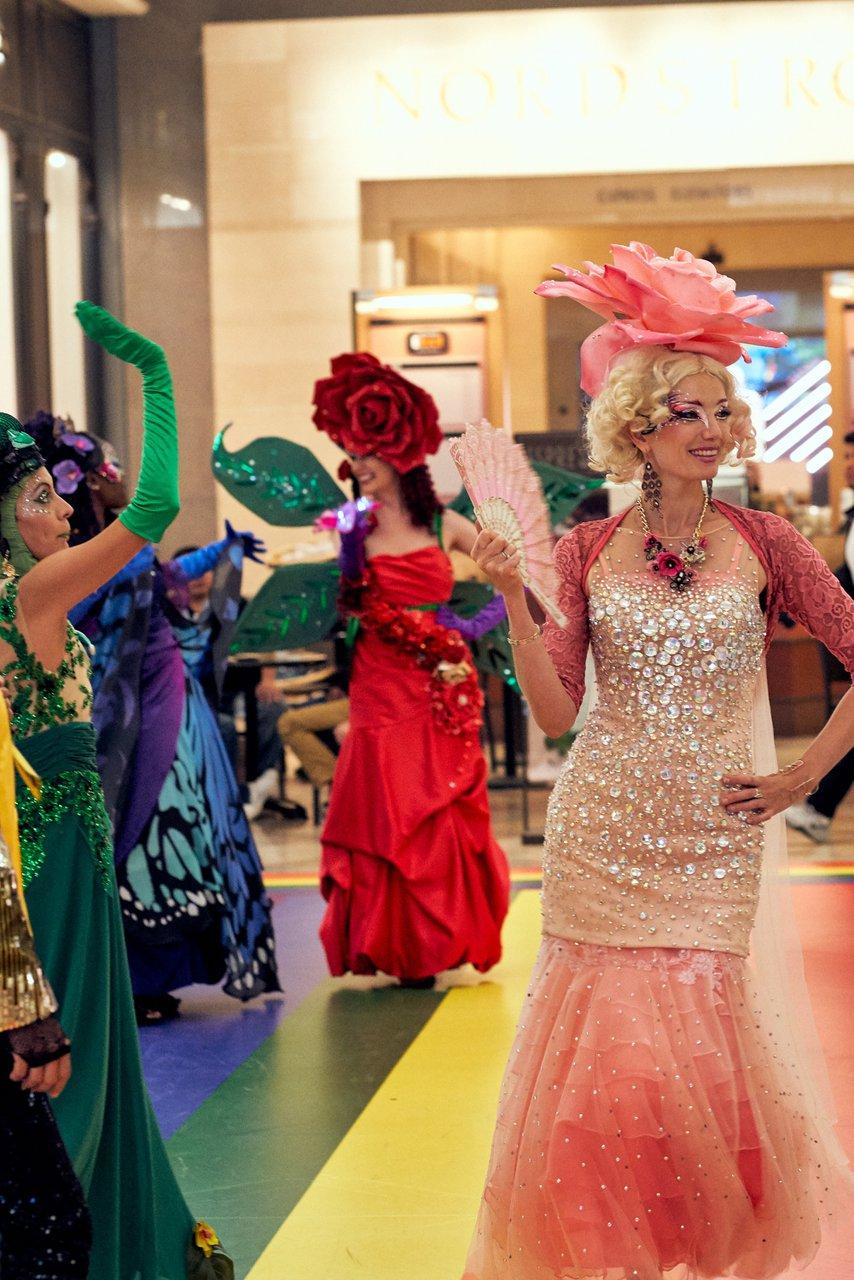 Pride Celebration at Westfield Center photo GroupRunwayFab.jpg