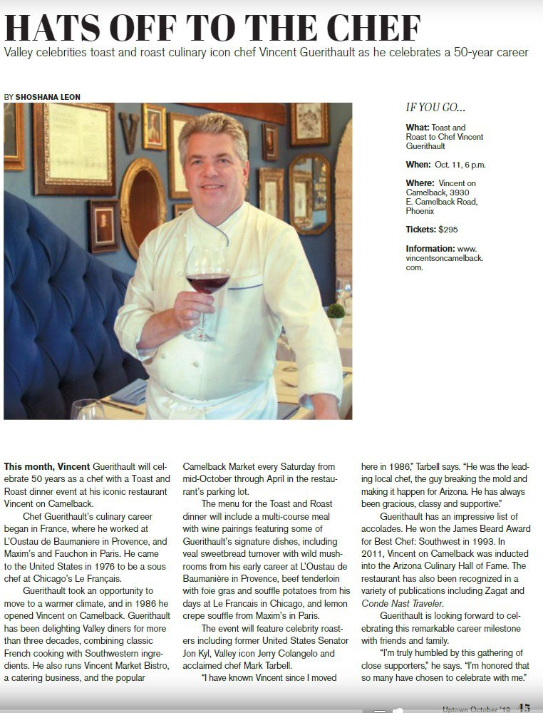"Vincent Guerithault ""Toast and Roast""  photo Uptown Magazine feature.jpg"