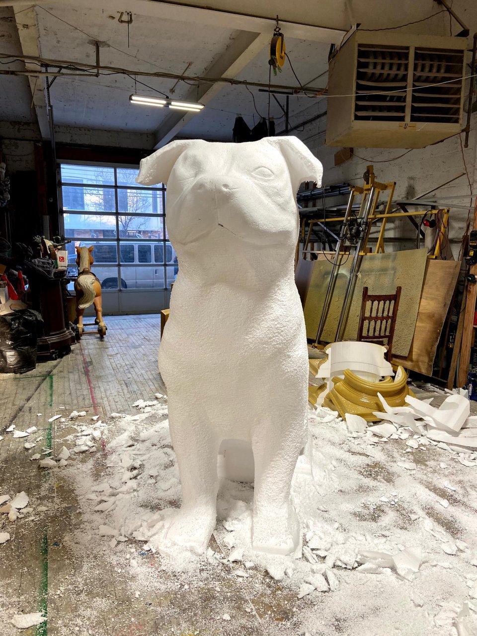 Fomo - 8 ft. Topiary Dog Sculpt photo 906921BF-2A61-4619-A23E-043F608D8618.jpg