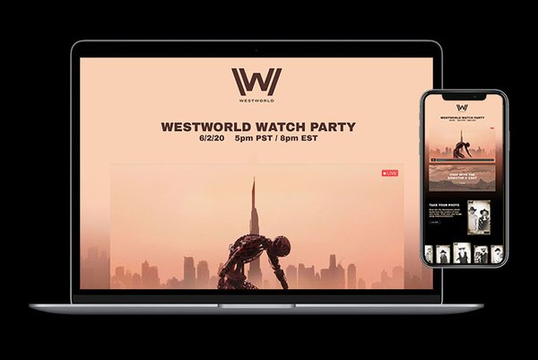 HBO Westworld Watch Party cover photo