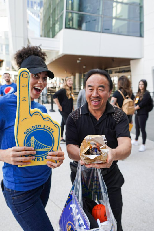 Pepsi at The Golden State Warriors Game