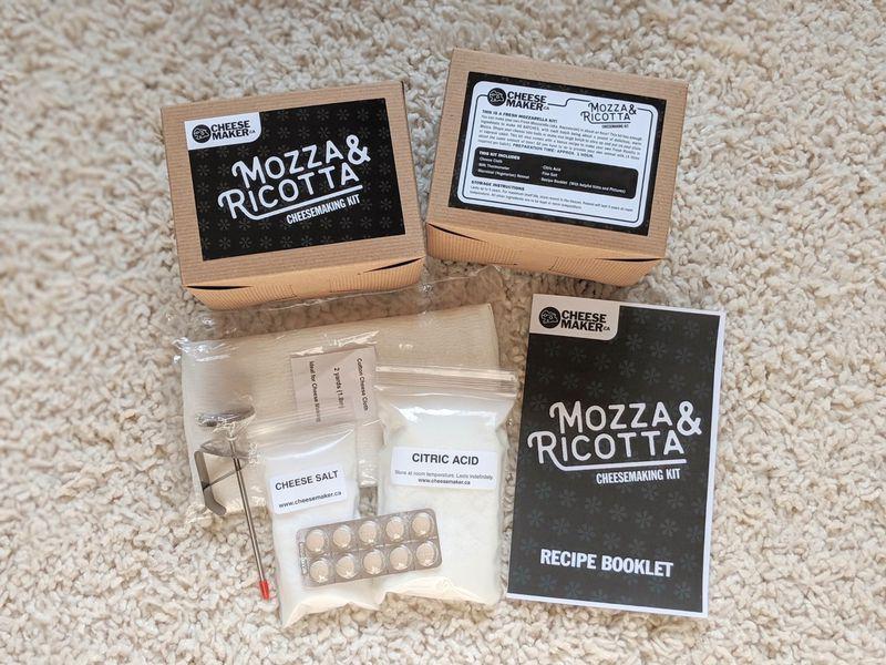 Mozzarella Cheese Making with Kit service