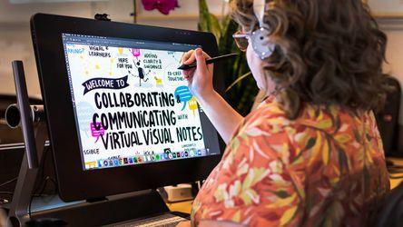 Real-time Virtual Visual Notes