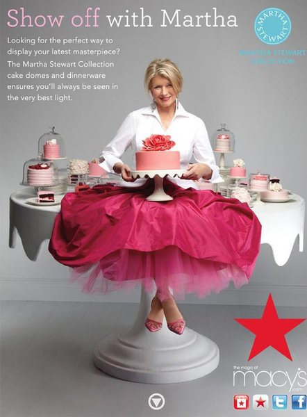 Martha Stewart Collection Macy's Shoot cover photo