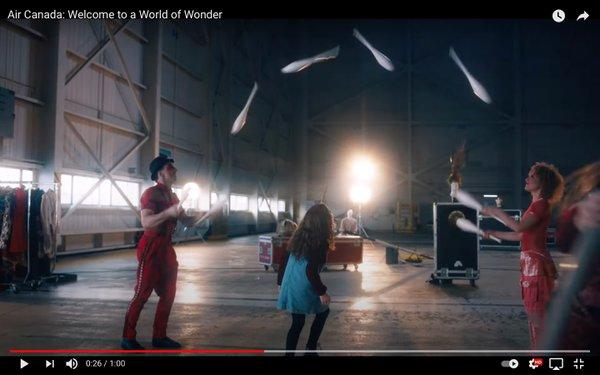 Cirque du Soleil & Air Canada  cover photo