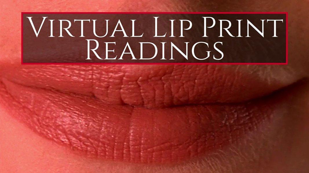 Virtual Lip Print Readings service photo