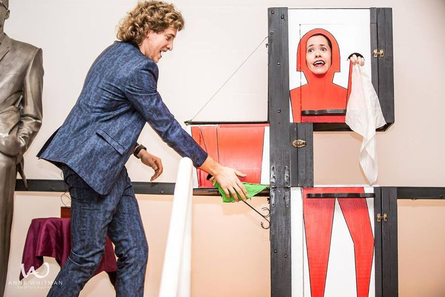 Matias & Kanoe Stage Illusion Show service