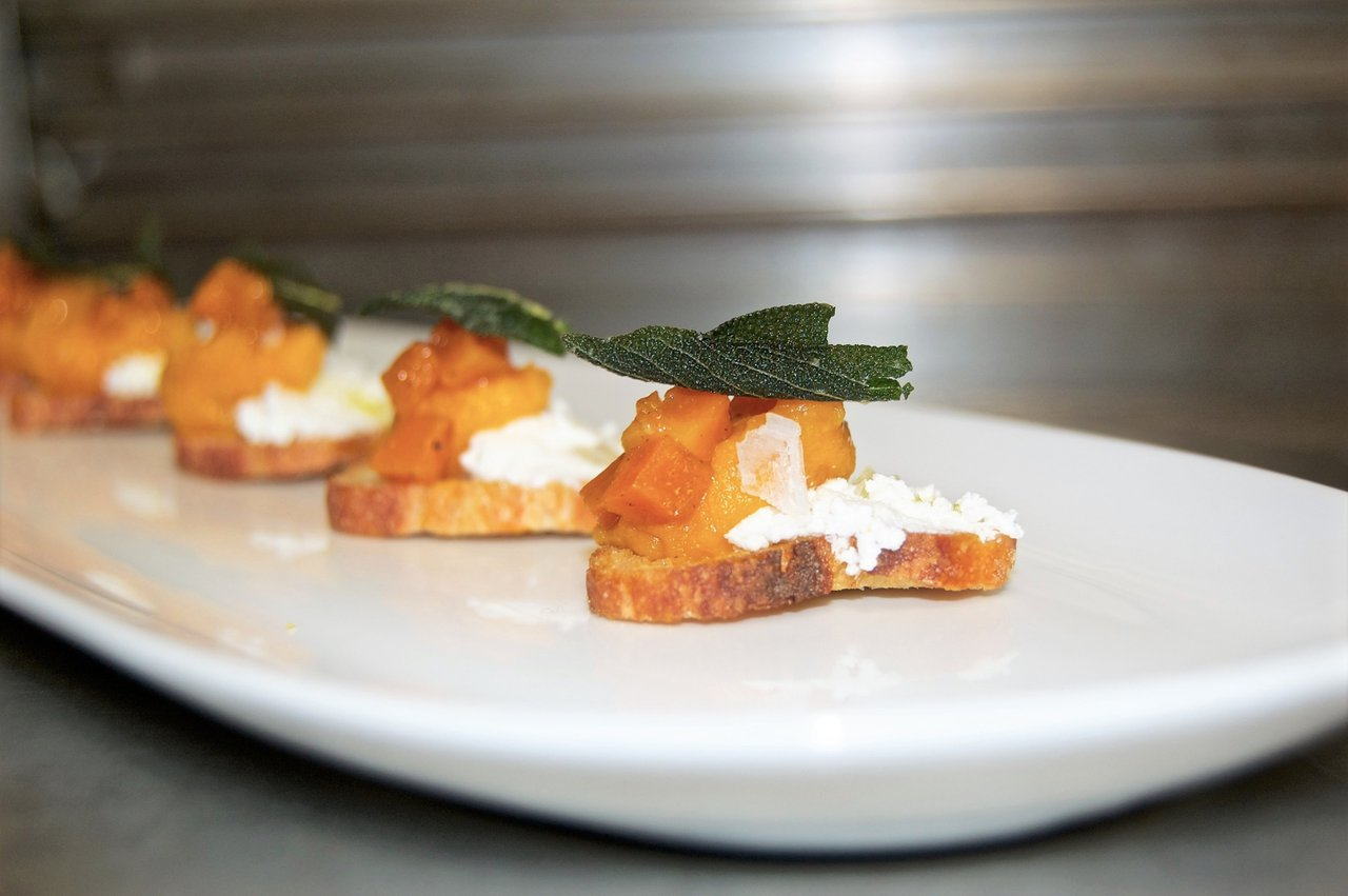Brideside NYC Boutique Launch Party photo Butternut Squash Crostini 2.jpg