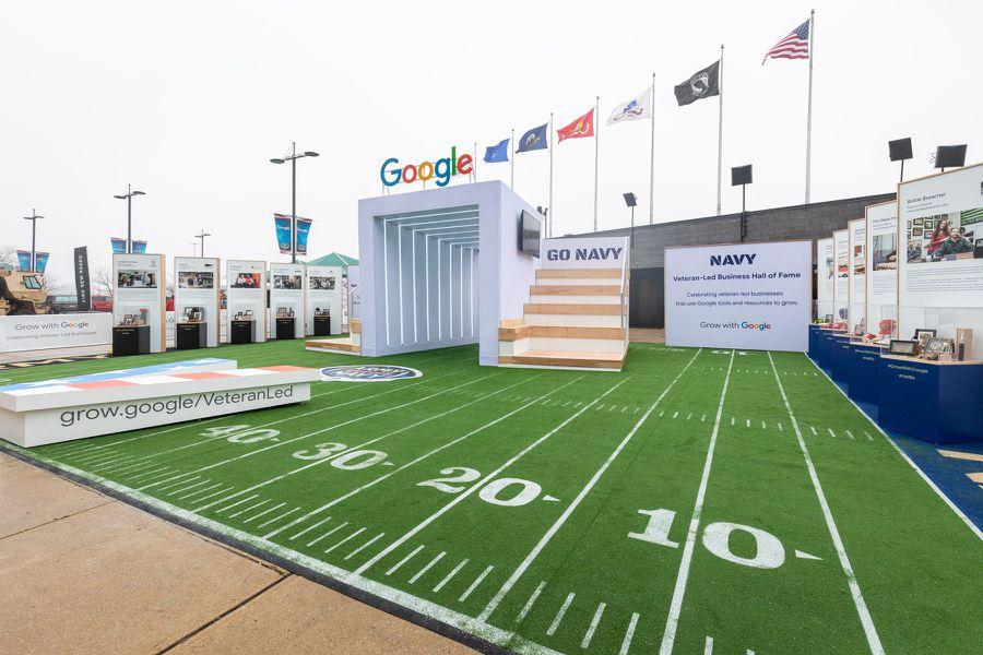 Google: Grow with Google Army vs. Navy