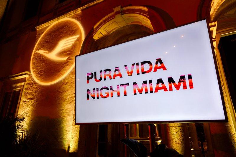 PURA VIDA NIGHT // LUFTHANSA