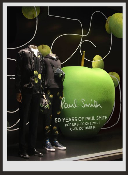 Bloomingdale's Window for Paul Smith  cover photo