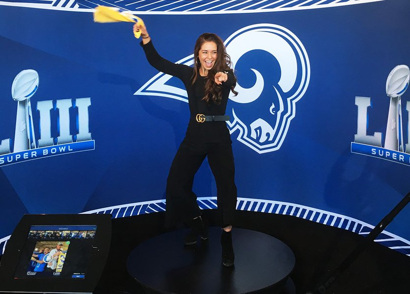 360 Video Booth - Super Bowl LIII