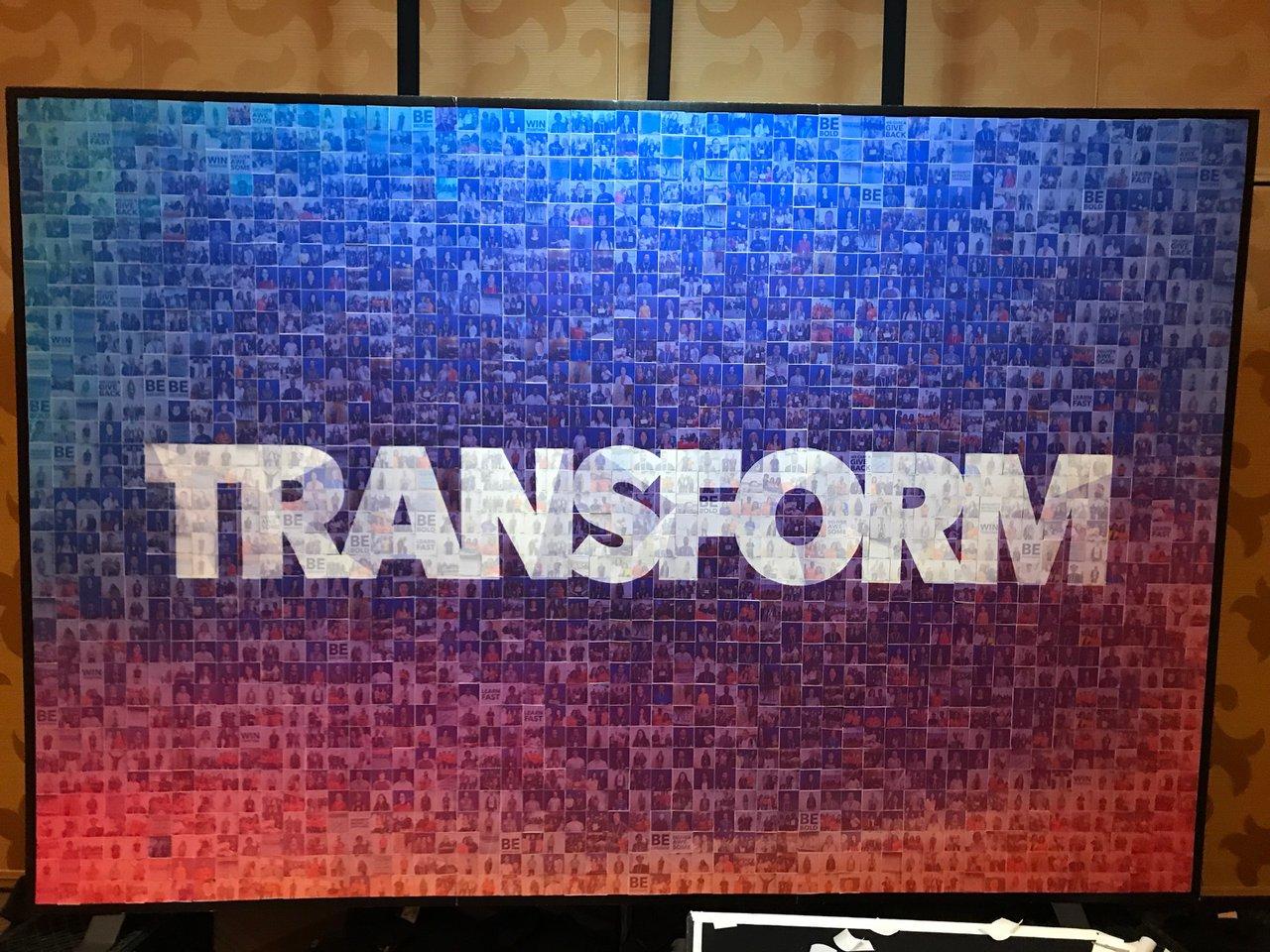 Transform cover photo