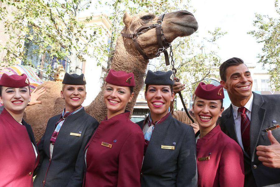 Qatar Airlines Activation
